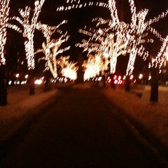 Photo taken at Commonwealth Avenue Mall by Peter V. on 2/12/2011