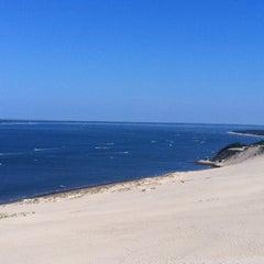 Photo taken at Dune du Pilat by Vijee D. on 8/1/2011