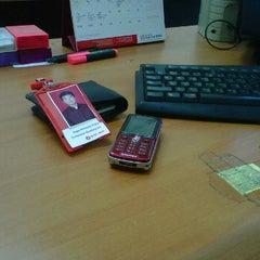 Photo taken at Bank OCBC NISP Panglima Polim by Saga P. on 1/18/2012