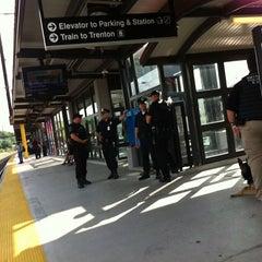 Photo taken at NJT - Metropark Station (NEC) by Jason F. on 8/4/2011
