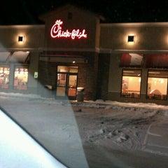 Photo taken at Chick-fil-A by Alex R. on 1/12/2012