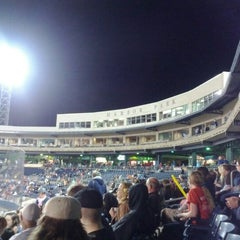 Photo taken at Harbor Park by Malcom J. on 5/19/2012