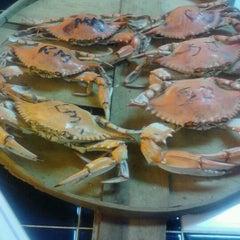 Photo taken at Shoreline Seafood by alisha m. on 5/13/2012