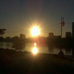 Photo taken at Lake Merritt by Cynthia G. on 10/14/2011
