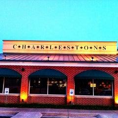 Photo taken at Charleston's Restaurant by Justin W. on 7/13/2012