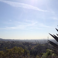 Photo taken at East Topanga Fire Road Trailhead by Annika W. on 4/28/2012