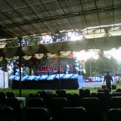 Photo taken at Graha Wisata Pramuka by Iqbal M. on 1/15/2012