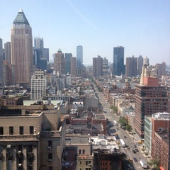 Photo taken at Hudson Hotel by Amanda G. on 6/21/2012
