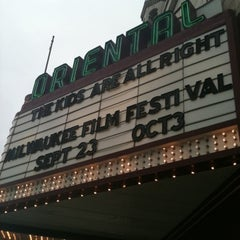 Photo taken at Oriental Theatre by Tracy O. on 12/22/2010
