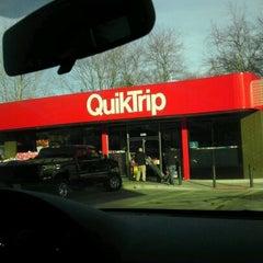 Photo taken at QuikTrip by William R. on 12/28/2011