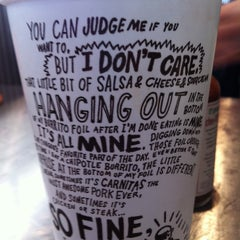 Photo taken at Chipotle Mexican Grill by Lissy V. on 1/27/2011