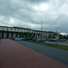 Photo taken at Van der Valk Hotel Sneek by Marc B. on 9/12/2012