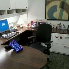 Photo taken at Kelly's Office @ KeyBank Higbee by Kelly M. on 10/31/2011