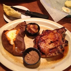 Photo taken at Montana Mikes Steakhouse by Debbie C. on 2/27/2012