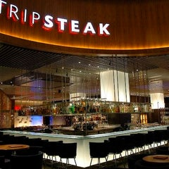 Photo taken at Strip Steak by Lux Delux on 3/27/2012
