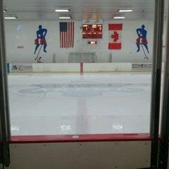 Photo taken at Southwest Ice Arena by Raymond K. on 4/7/2012