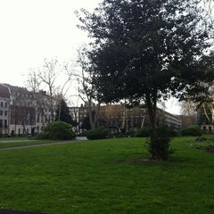 Photo taken at Bloomsbury Square by Chris S. on 3/10/2012