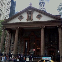 Photo taken at St. Paul's Chapel by Александр П. on 8/25/2012