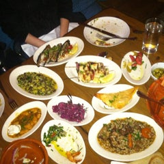 Photo taken at Kanella: Greek Cypriot Kitchen by Adam on 3/26/2012