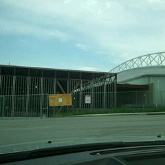 Photo taken at Steve & Debbie Bergstrom Indoor Training Facility by Scott M. on 5/12/2012