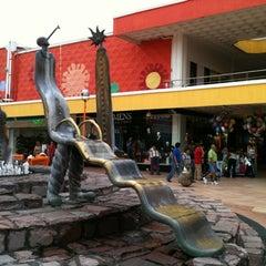 Photo taken at Plaza del Sol by Luz Alejandra on 7/21/2012