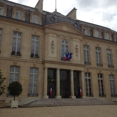 Photo taken at Palais de l'Élysée by Frédéric G. on 6/18/2012