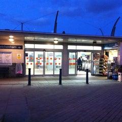 Photo taken at Twickenham Railway Station (TWI) by Rhammel A. on 8/15/2012
