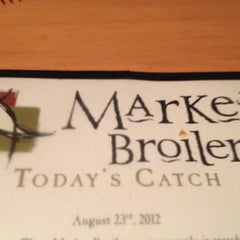 Photo taken at Market Broiler by Vineet A. on 8/24/2012