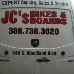 Photo taken at JC's Bikes Amd Boards by Wendy on 6/9/2012