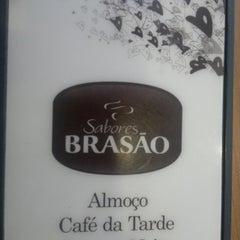 Photo taken at Restaurante do Brasão Supermercados by Marcell Hayiro B. on 2/22/2012