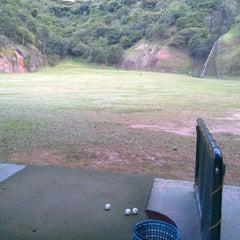 Photo taken at La Cinta Golf driving range by Carlos V. on 7/5/2012