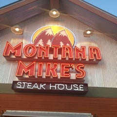 Photo taken at Montana Mikes Steakhouse by Mohammed on 6/28/2012