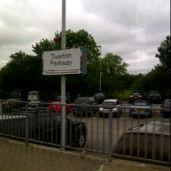 Photo taken at Tiverton Parkway Railway Station (TVP) by Di D. on 5/31/2012