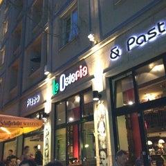 Photo taken at La Osteria by Stefanie B. on 4/30/2012