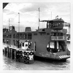 Photo taken at Butterworth Ferry Terminal (Pangkalan Sultan Abdul Halim) by Shukri J. on 8/23/2012