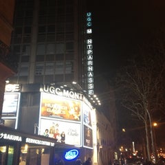 Photo taken at UGC Montparnasse by Cássio A. on 3/24/2012