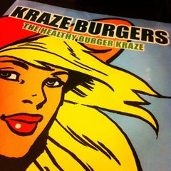 Photo taken at Kraze Burgers by Michelle S. on 5/24/2012