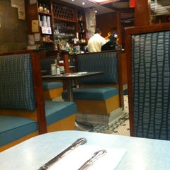 Photo taken at Westway Diner by Carlos R. on 7/23/2012