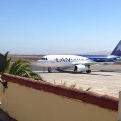 Photo taken at Aeropuerto La Florida (LSC - SCSE) by Rodrigo A. on 4/12/2013