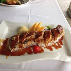 Photo taken at Sushi Siam Key Biscayne by Pufi C. on 11/8/2013