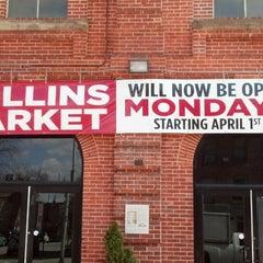 Photo taken at Hollins Market by Erik W. on 3/26/2013
