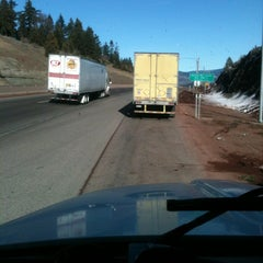 Photo taken at Siskiyou Summit by Michael R. on 2/14/2013