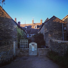 Photo taken at Stow-on-the-Wold by Carol L. on 10/4/2014