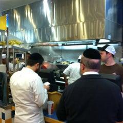 Photo taken at Jeff's Gourmet Kosher Sausage Factory by Malya D. on 1/18/2013