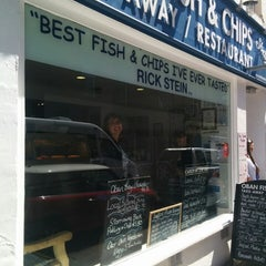 Photo taken at Oban Bay Fish & Chip Shop by bmwelby on 6/18/2014