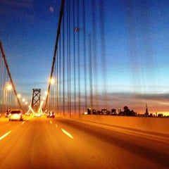 Photo taken at San Francisco-Oakland Bay Bridge by Kira on 2/24/2013