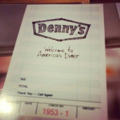 Photo taken at Denny's by stacey o. on 4/19/2014