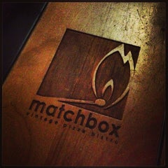 Photo taken at Matchbox Vintage Pizza Bistro by Evan B. on 2/6/2013