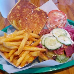 Photo taken at Paradise Valley Burger Co. by Kory Y. on 10/27/2012