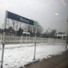 Photo taken at Norbury Railway Station (NRB) by Nadarajah P. on 1/23/2013
